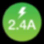 GetGEARZ 2.4A Charging