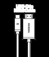 MICRODIA USB-C 3.1 USB-C to HDMI