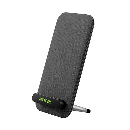 X.PAD CASA - 10 W Wireless Charging Stand Covered with Textured Fabric