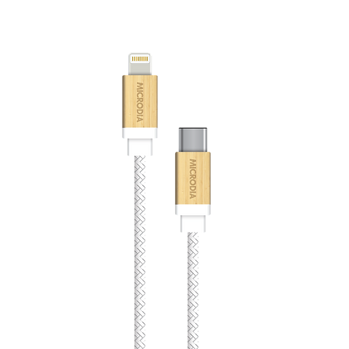 Leatherable CABLE DE CUIR (USB-C to Lightning Cable)