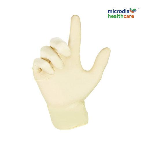 Latex Gloves Disposable & Powder-Free (100pcs/box)