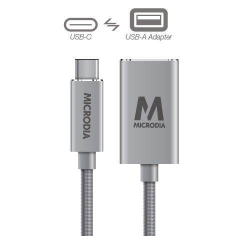 USB-C_to_USB-A Adapter - Space Grey