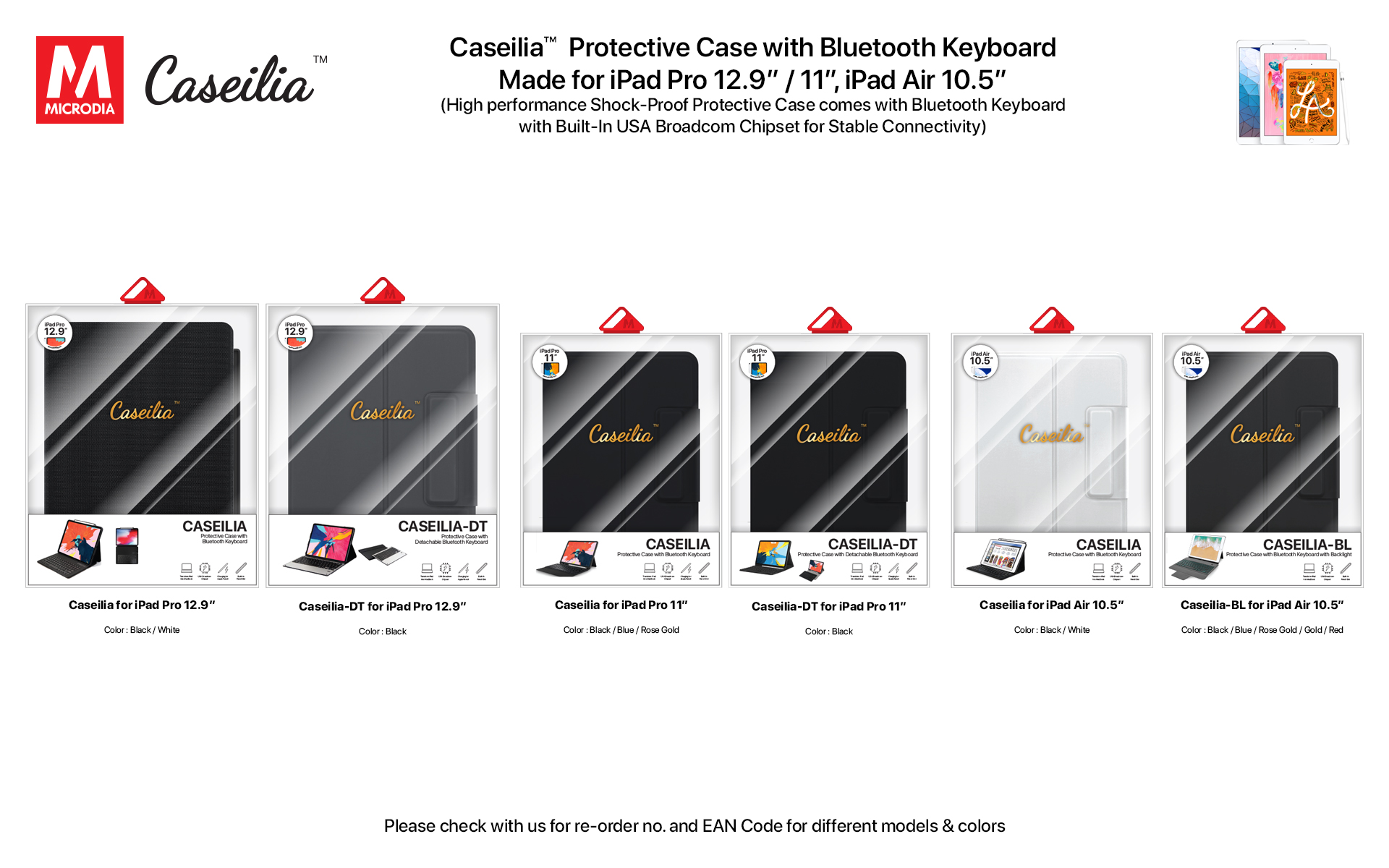23.2 Caseilia-iPad Case with Keyboard
