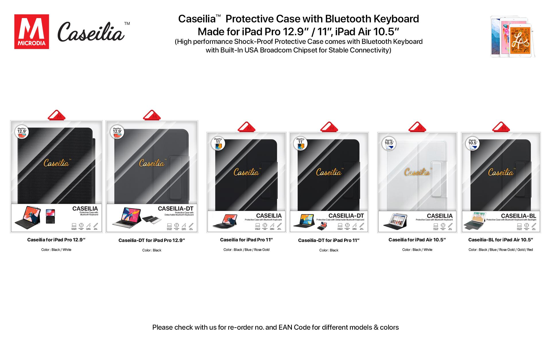 23.2 Caseilia-iPad Case with Keyboard