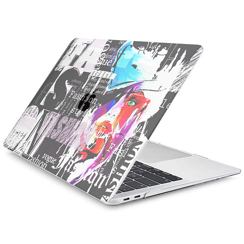 PARIS Hard-shell Printing Case for MacBook - Coco