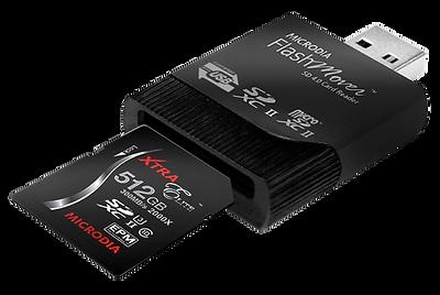 MICRODIA Micro-Flash SD4.0 Card Reader