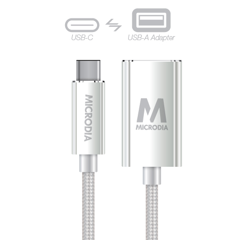 USB-C_to_USB-A Adapter - Silver