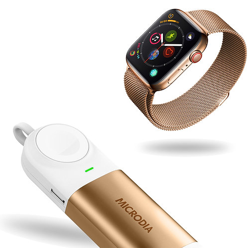 X.POWER 3-IN-1 - Power Bank for Apple Watch + Wireless Charger + USB Port Output