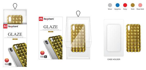 Flexorbent GLAZE Packaging