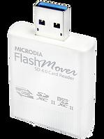 MICRODIA Micro-Flash SD4.0 Card Reader White