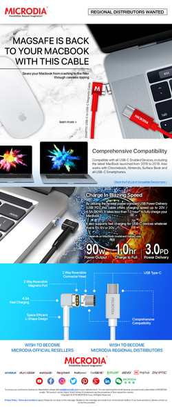 MagSafe is back to your Macbook