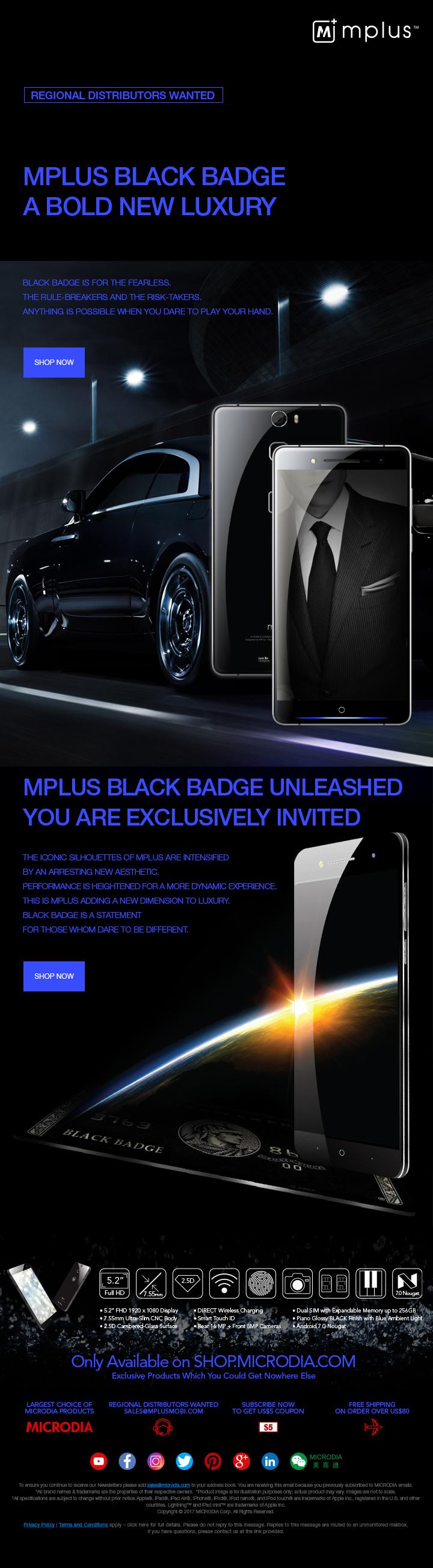 BLACK BADGE - A Bold New Luxury