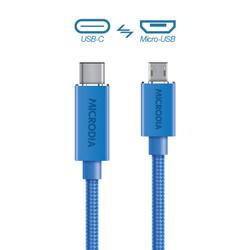 USB-C_to_MicroUSB - Blue