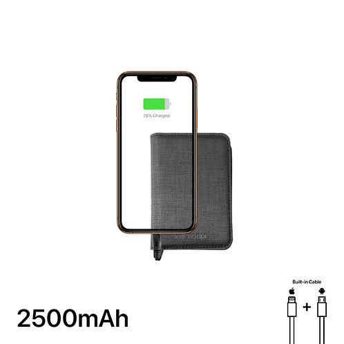 VOGUE - Card Case + 2500mAh Power Bank + Dual Output