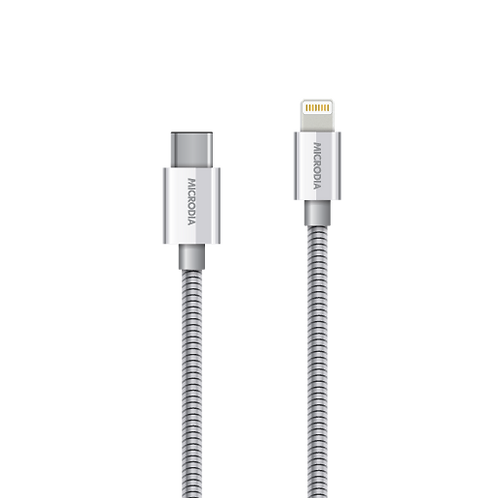 DurCable STEEL - (USB-C to Lightning)