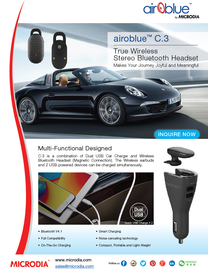 True Wireless Bluetooth Headset