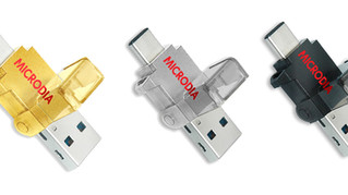 MICRODIA Launches OTG USB-C Flash Drive & Card Reader
