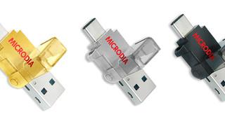 MICRODIA Launches OTG USB-C Flash Drive & Card Reader