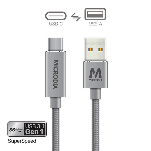 3.1 Gen1 USB-C to USB-A Charge & Sync Cable