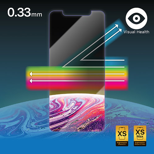 Flexorbent Screen Protector - Anti-Blue Light 2.5D, 0.33mm for iPhone