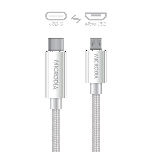 USB-C to microUSB Charge & Sync Cable