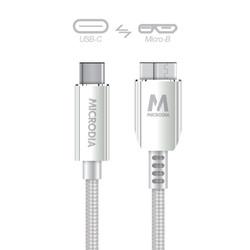 USB-C_to_MicroB - Silver