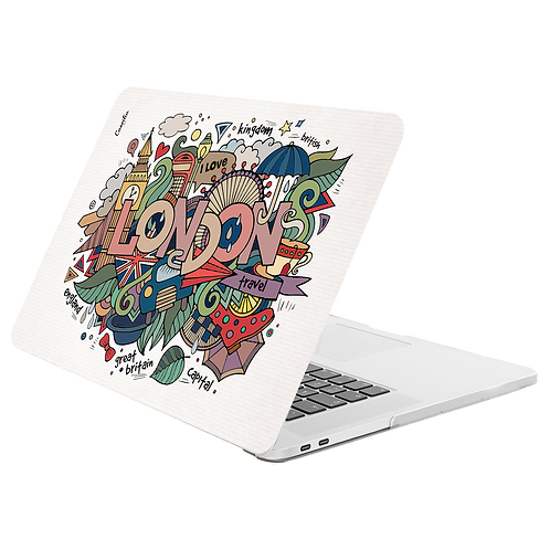 LONDON Hard-shell Printing Case for MacBook - Graffiti