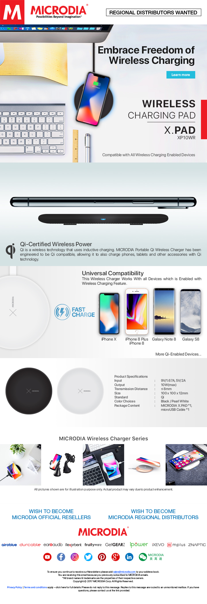 Embrace Freedom of Wireless Charging