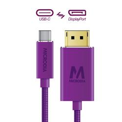 USB-C_to_Displayport - Purple