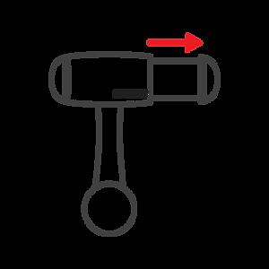 MICRODIA Smart 360 Car Mount - Easy One-Touc Grip