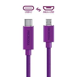 USB-C_to_MicroUSB - Purple