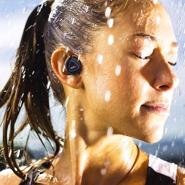 EarXAudio Go IPX4-Certified Splashproof