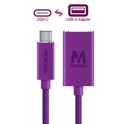 USB-C_to_USB-A Adapter - Purple