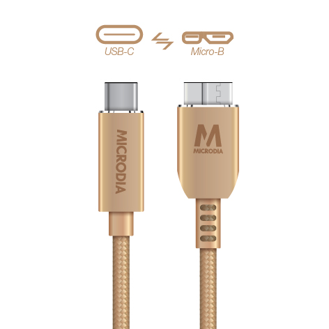 USB-C_to_MicroB - Gold