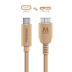 USB-C_to_MicroB - Gold