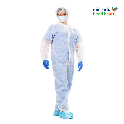 Breathable single-use Polypropylene Coveralls