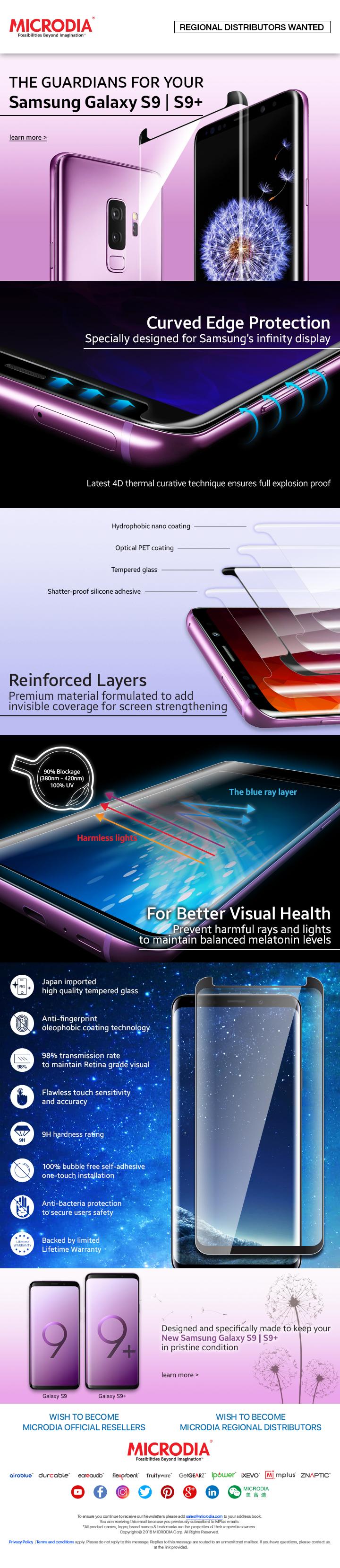 Samsung Galaxy S9 Screen Protector