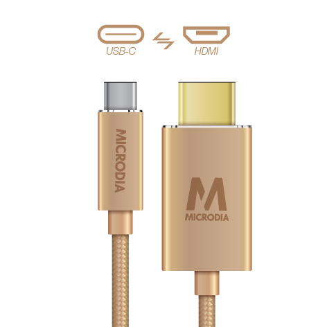 USB-C_to_HDMI - Gold
