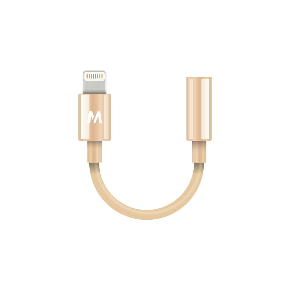 Fruitywire_HeadphoneJackAdapter-Gold
