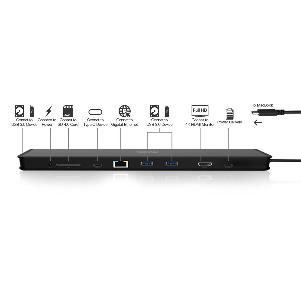 USB-C 3.1 Universal Docking Station