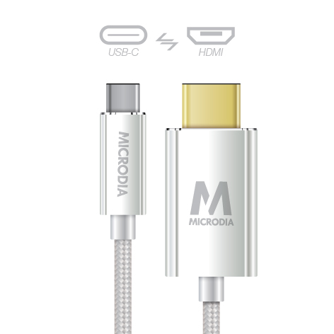 USB-C_to_HDMI - Silver