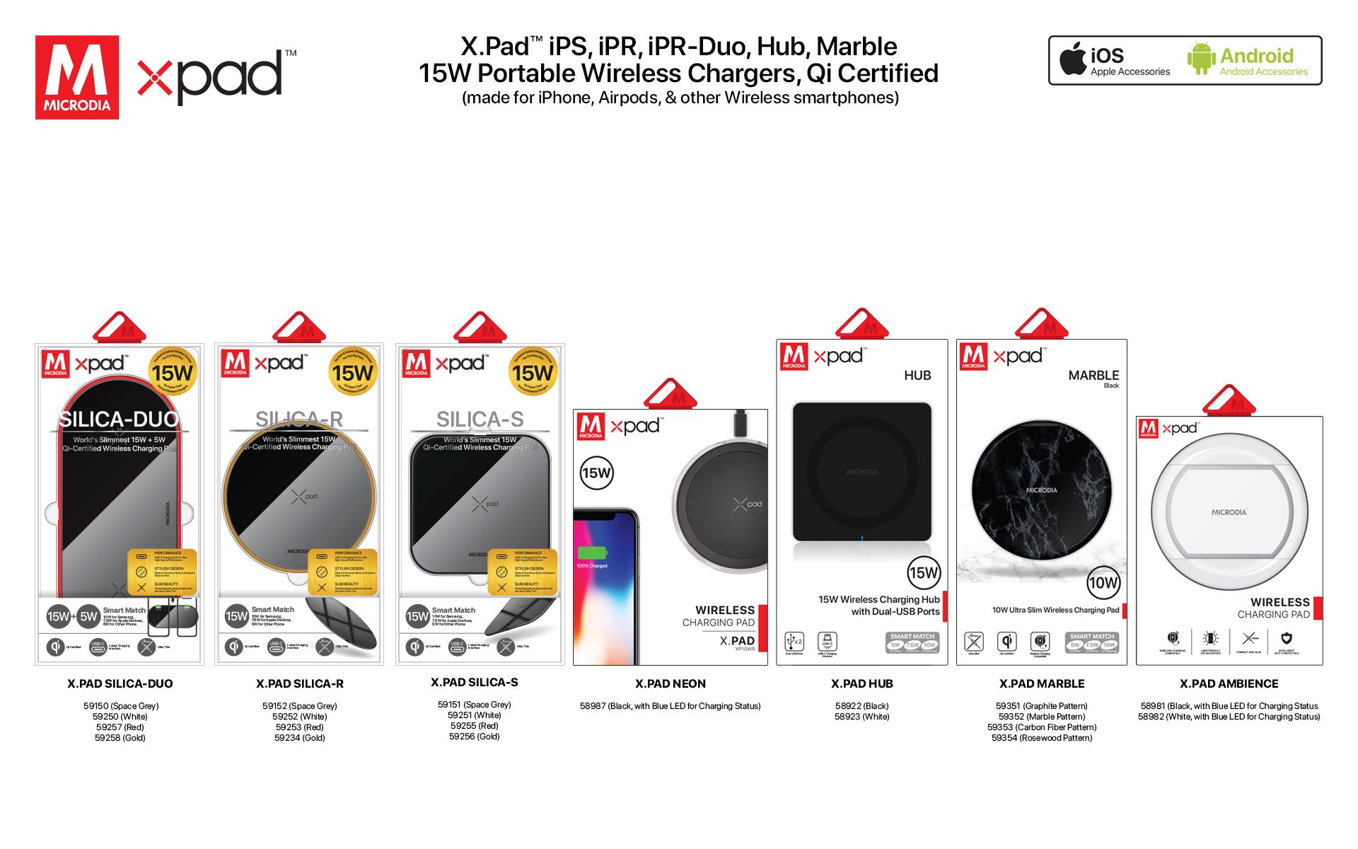 17. X.PAD Wireless Charging Pad