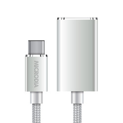 3.1 USB-C to USB-A Adapter Silver
