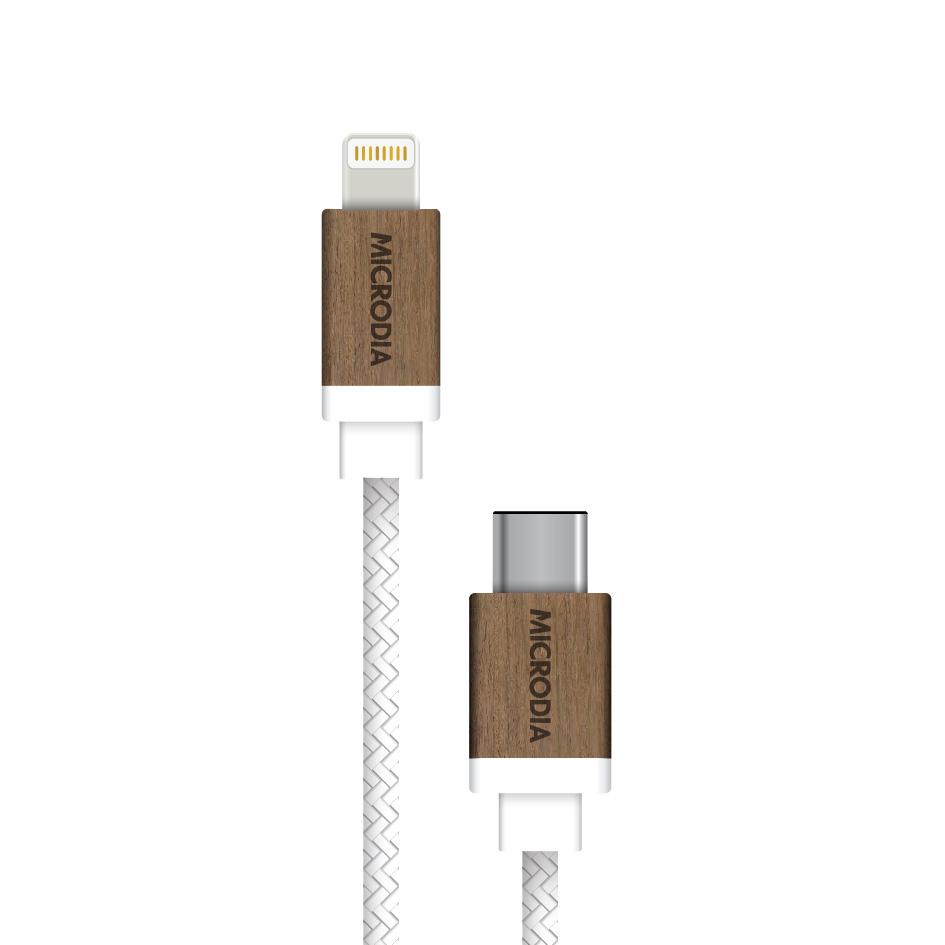 Cable de Cuir USB-C Cable