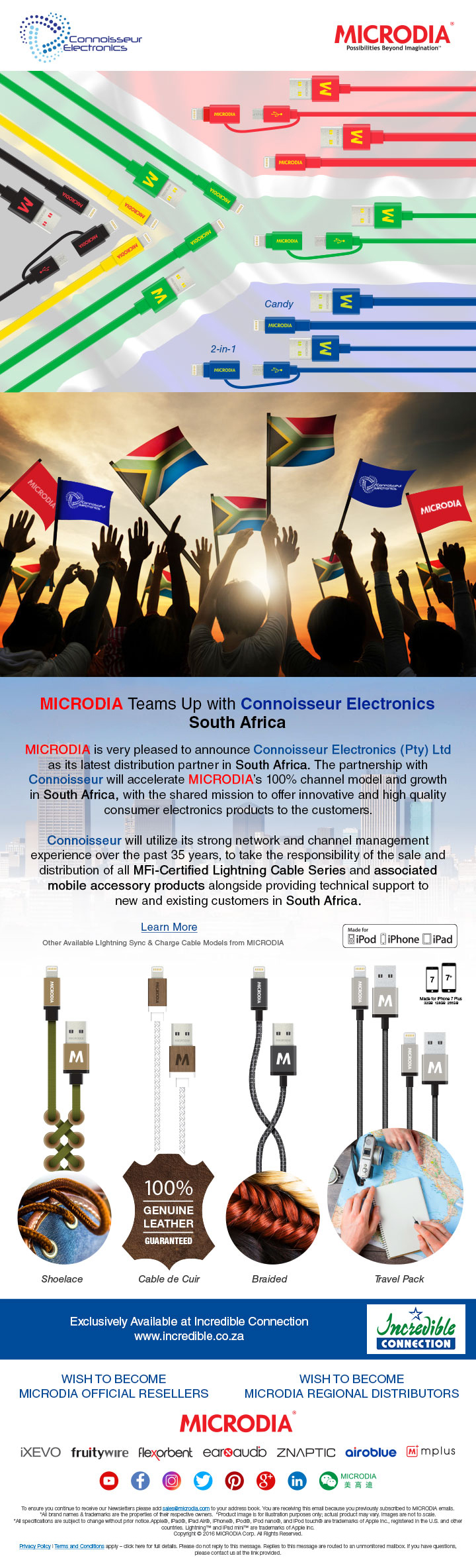 Team Up with Connoisseur Electronics