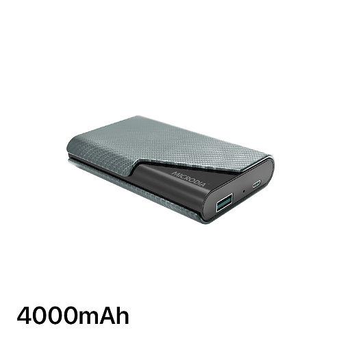 PALM - Big Capacity Card Holder + 4000mAh Power Bank