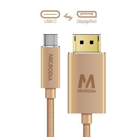 USB-C_to_Displayport - Gold