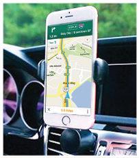 MICRODIA Smart 360 Car Mount - Portrait View