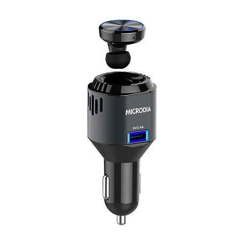 AiroBlue A.3 - True Wireless Stereo Headset + In-Car Air Purifier + Car Charger