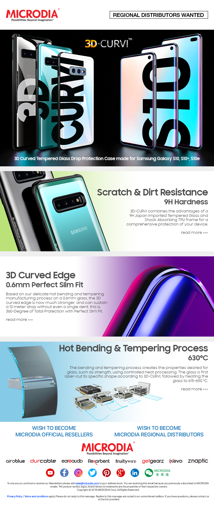 The Only Curved Edge Tempered Glass